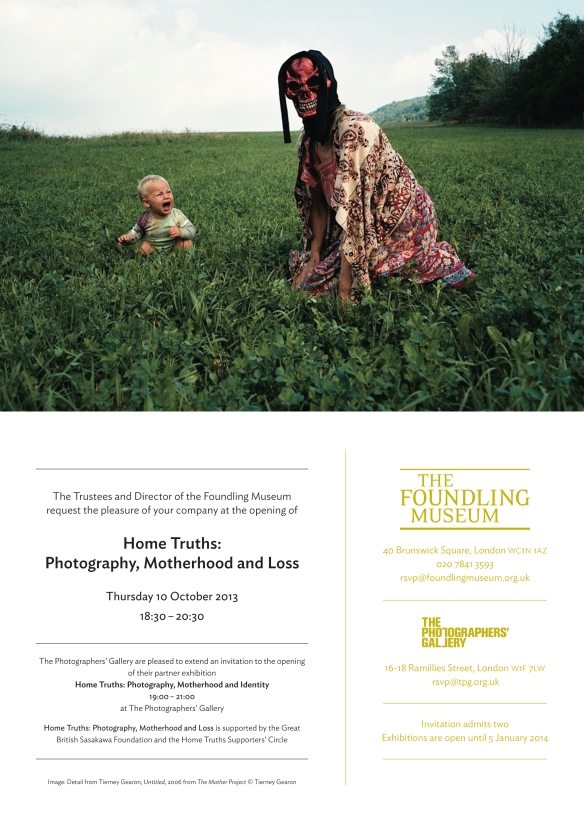 Home Truths: Photography, Motherhood & Loss @ The Foundling Museum